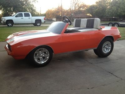 Awesome Classic 69' Chevy Camaro Golf Cart Body Kit~