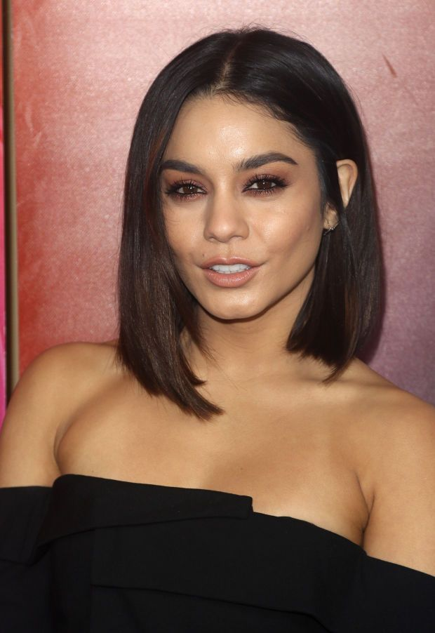 Vanessa Hudgens at the 2017 NBC Universal Winter press tour.