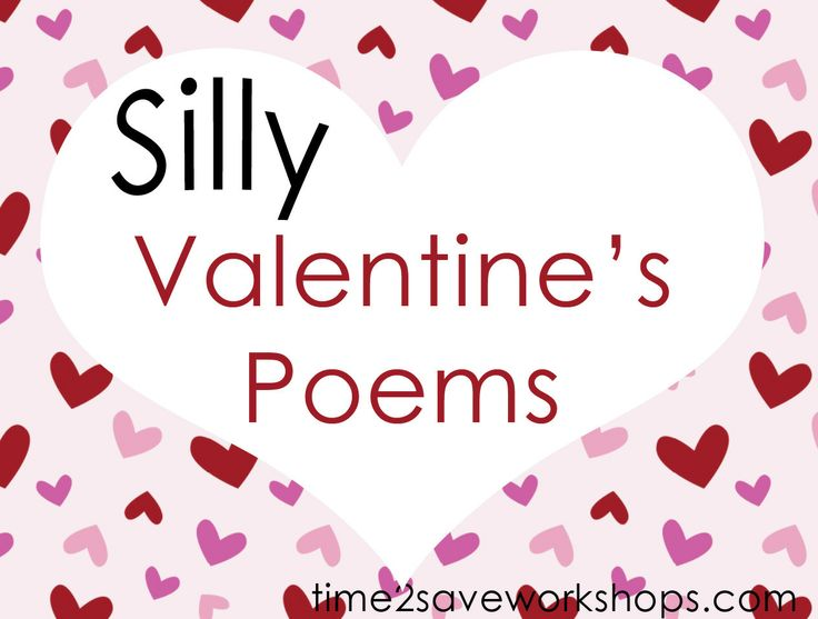valentine poems silly