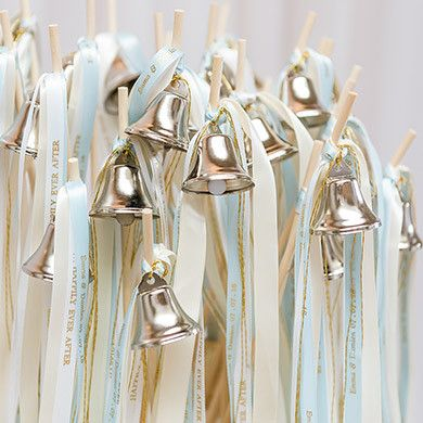 Ribbon wands have quickly grown in popularity and are a great way to create a charming effect for your wedding send-off. Accepted in almost any venue as an alternative to confetti or sparklers, your g