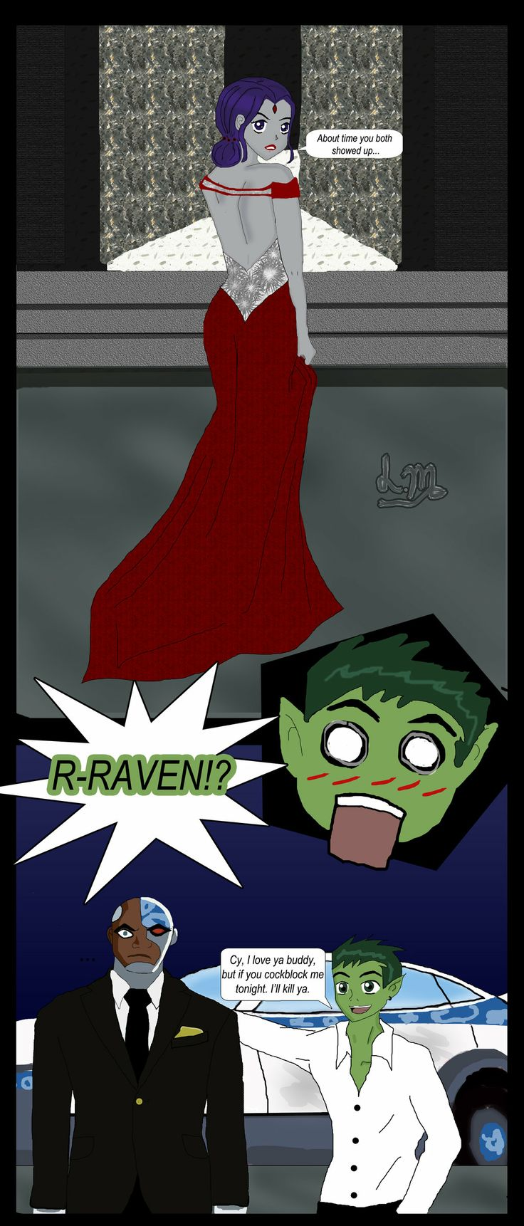 beastboy and raven relationship fanfiction search