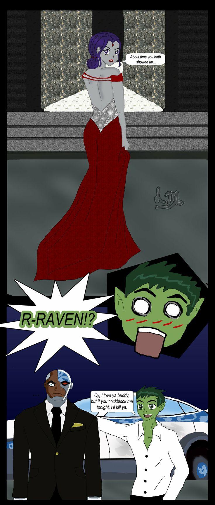 Beastboy+and+Raven+comic+by+lesliemint.deviantart.com+on+@deviantART