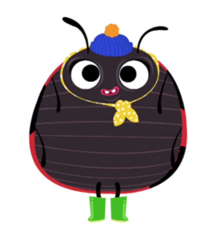 Derek is a Brummie Ladybird and Henri's long suffering sidekick. What Derek lacks in bravery and wit he makes up for in loyalty and appetite...  #HenrileWorm
