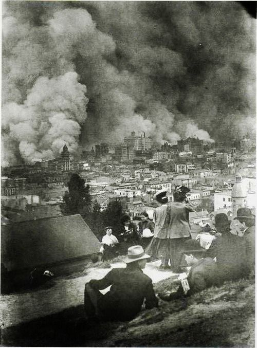 The San Francisco Earthquake and Fire, 1906