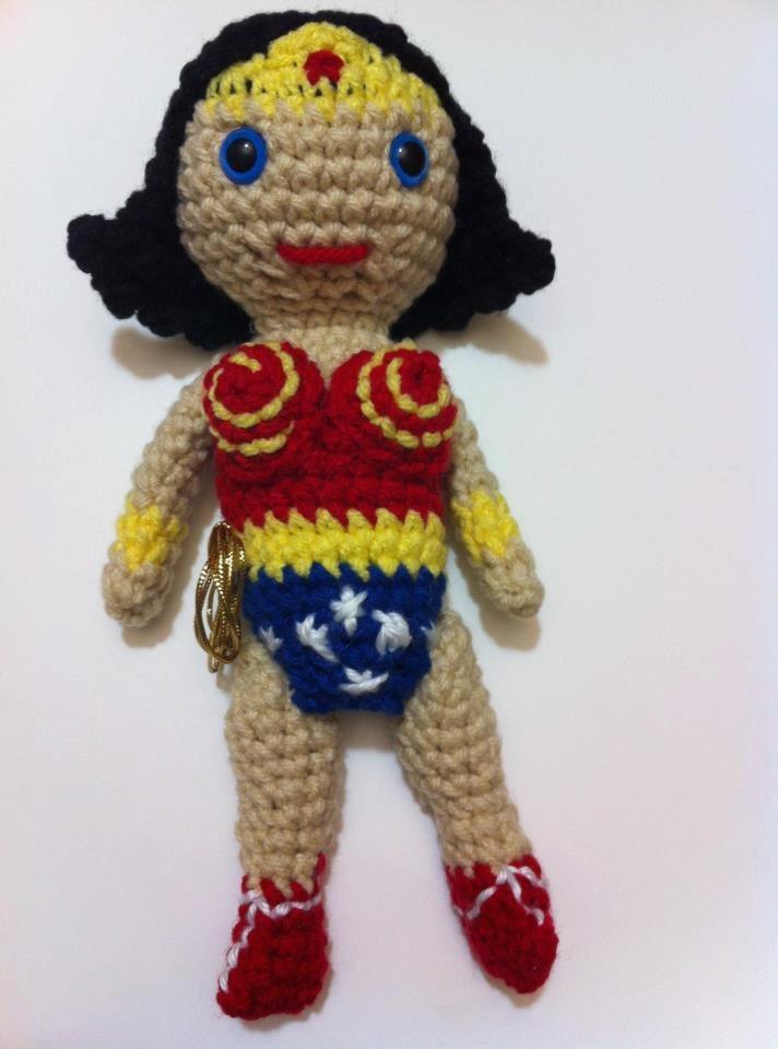 Amigurumi Wonder Woman : 17 Best images about Wonder Woman on Pinterest Wonder ...
