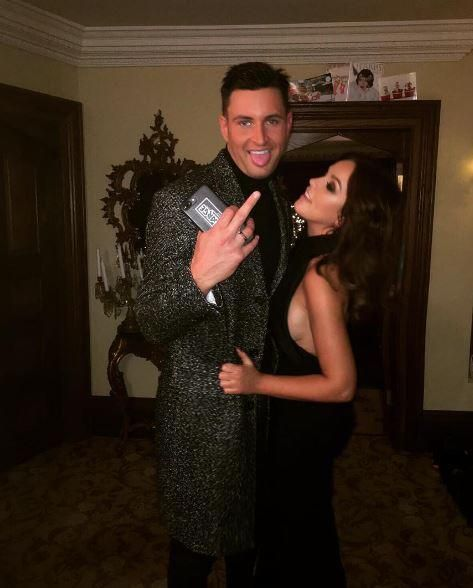 Vicky Pattison posts gushing tribute to boyfriend John Noble as they celebrated New Years Eve together