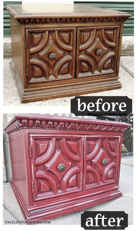185 Best Painted Glazed Furniture Before After Images
