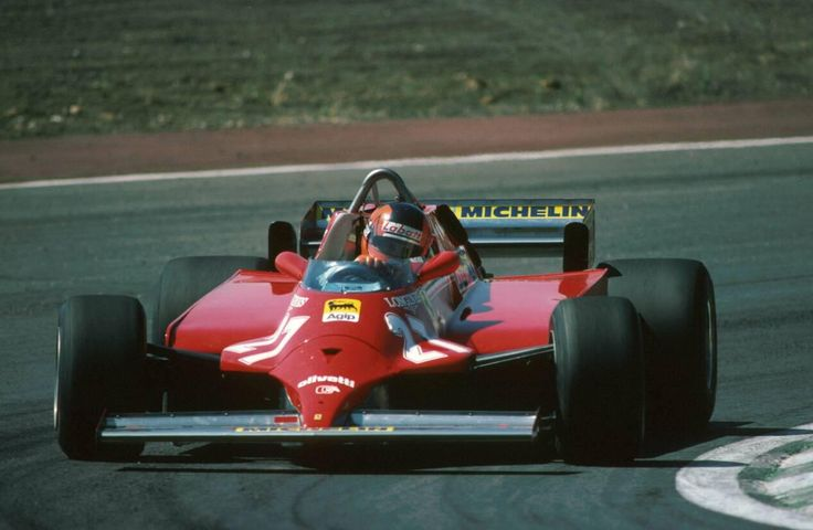 Gilles Villeneuve (Ferrari 126CK ) 1er Grand Prix d'Espagne - Jarama - 1981 - Formula 1 HIGH RES photos (Old and New) Facebook