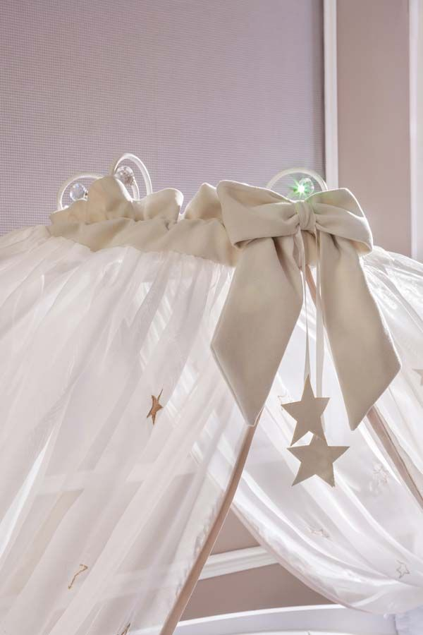 Dosel de la Cuna carroza de la serie Softy Fairy de Cilekspain, dormitorios temáticos. Bebes.