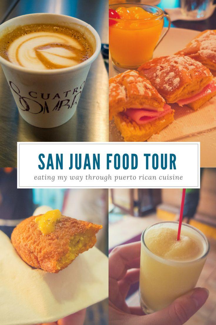Taste the Flavour of Puerto Rico on an Old San Juan Food Tour via @suitcaseheels
