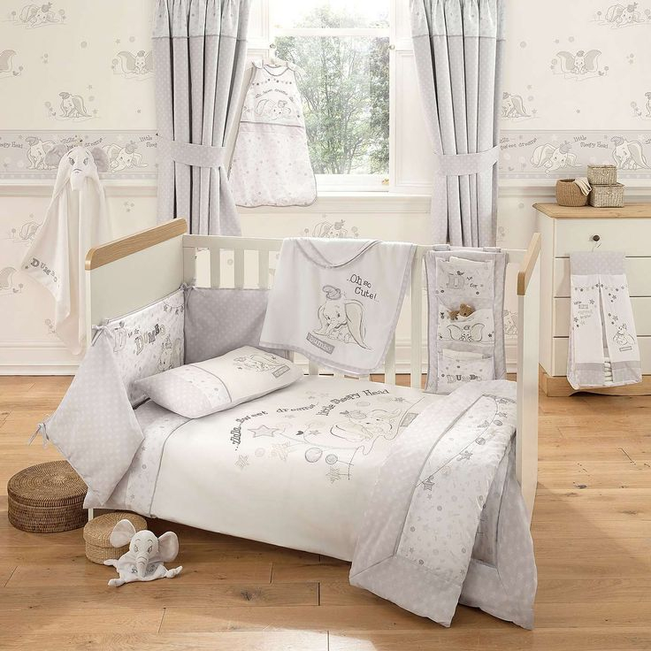 Disney Dumbo Nursery Cot Duvet Cover Set Dunelm Baby