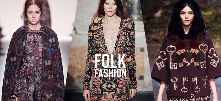 Folk fashion: a must-know trend for fall 2014