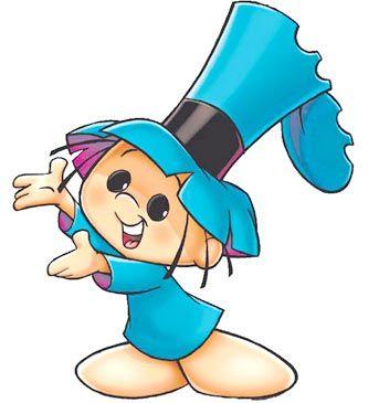 Hijitus personaje de historietas para niños. Argentina