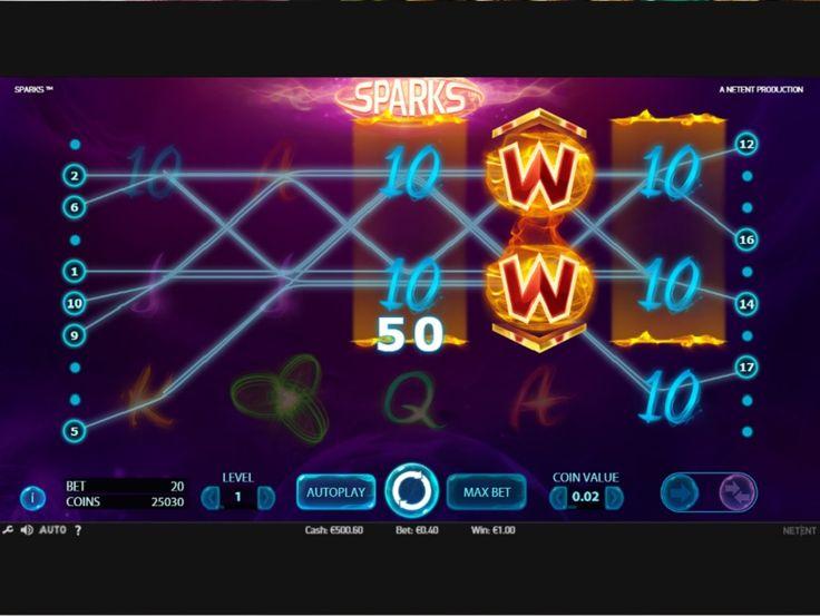 Sparks Tragamonedas - http://www.tragamonedas-paraiso.com/juegos/sparks-tragamonedas