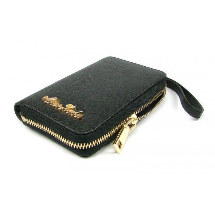 Černá dámská peněženka kožená - peněženky AHAL