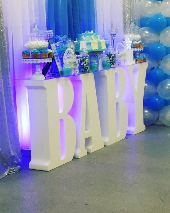 Baby Shower Letters