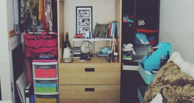 Really Cool Practical Dorm Room Organization Ideas