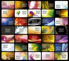 best business cards vector collection