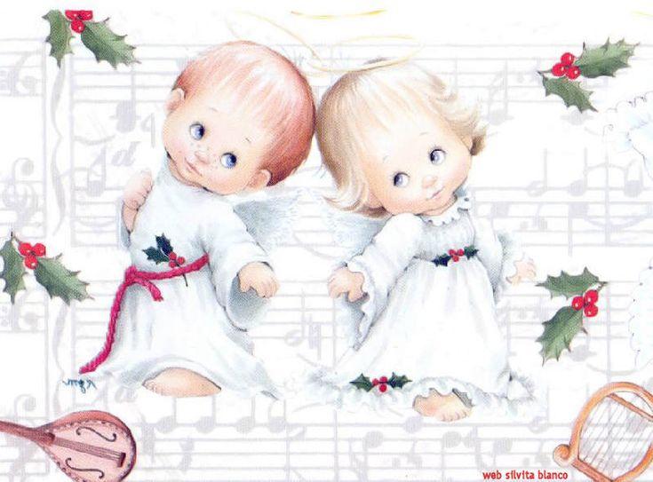 Angeles cantandoBY:Maria Elena Lopez Adorando a Dios en esta Navidad