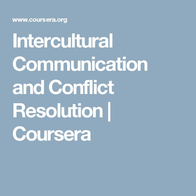 Intercultural communication and conflicts essay