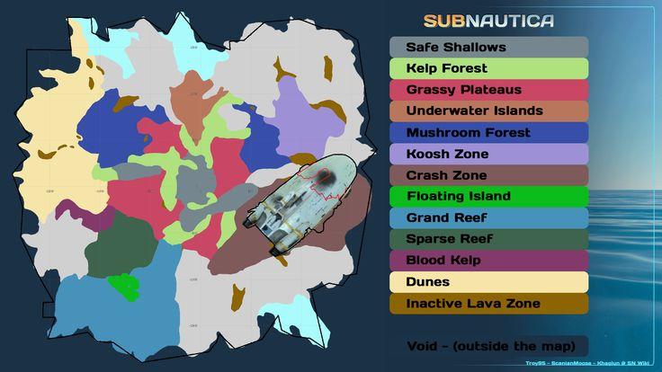 Subnautica Map