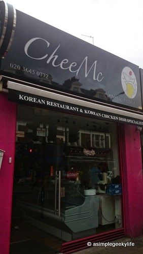 A Simple Geeky Life: CheeMc Korean Restaurant - London Walworth Road