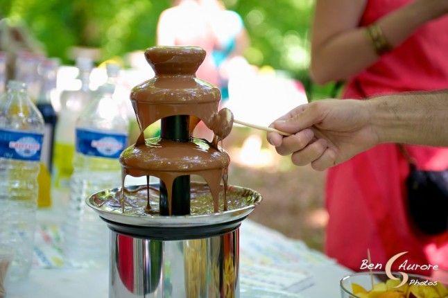 fontaine chocolat vin d'honneur