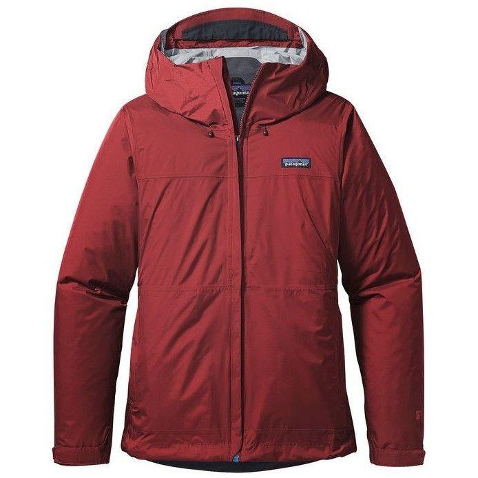 Patagonia Women's Torrentshell Waterproof Rain Jacket- Drumfire Red
