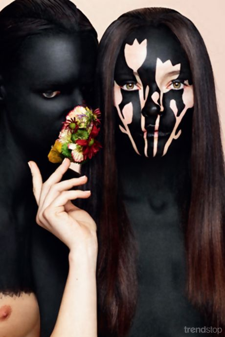 Nick Knight & Isamaya Ffrench - For more fashion trend forecasting, check out Trendstop.com