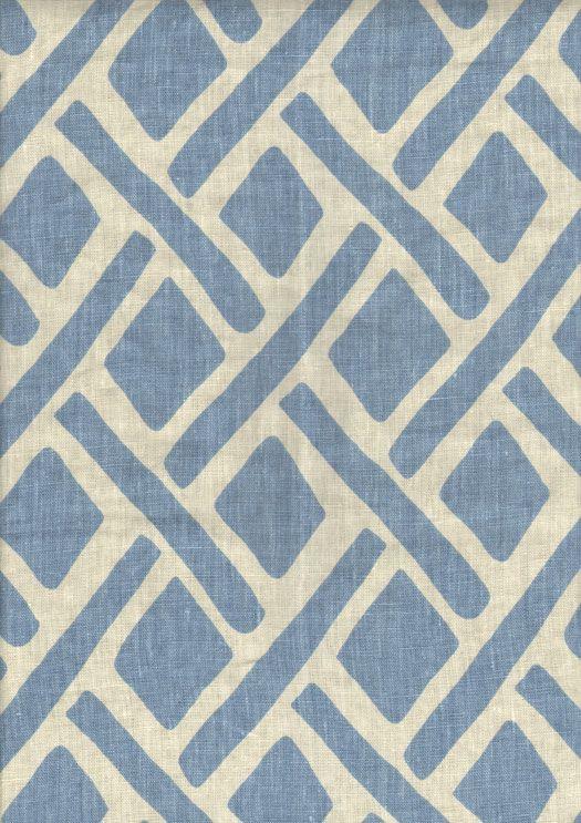 Four Seasons fabric Grade 7 Motif/Pool linen