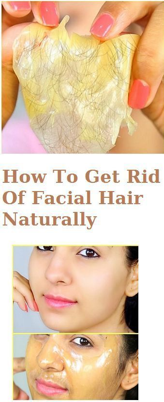 How To Get Rid Of Facial Hair Naturally?