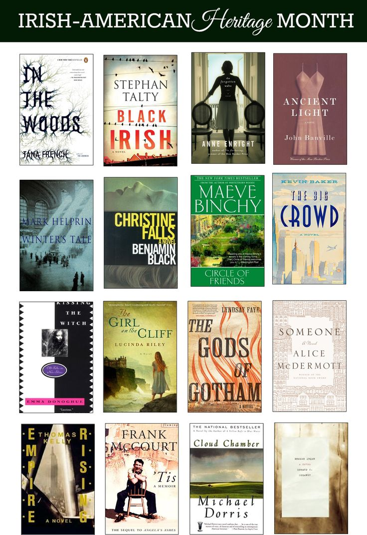 March Is Irishamerican Heritage Month: Try These Books By Irish Authors  And About