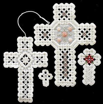 Cool Hardanger Crosses By Rose Marie Schneider