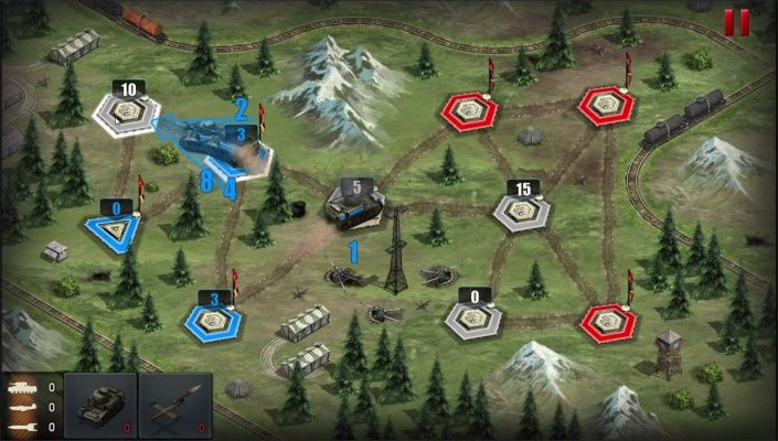 War Conflict is a Android Free-to-play, Real Time Strategy RTS, Multiplayer Game , merging the popular World War 2 theme with the tactical complexity.