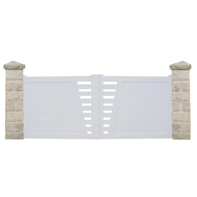 Portillon castorama pvc porte de garage coulissante - Porte fenetre castorama pvc ...