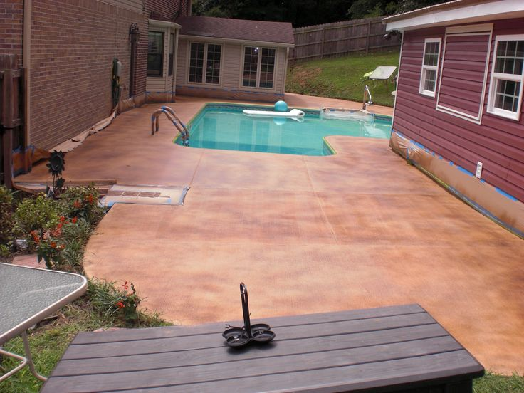 17 Best Images About Pool Deck With Colorseal On