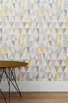Textured Geo Wallpaper (931942X56) | £15