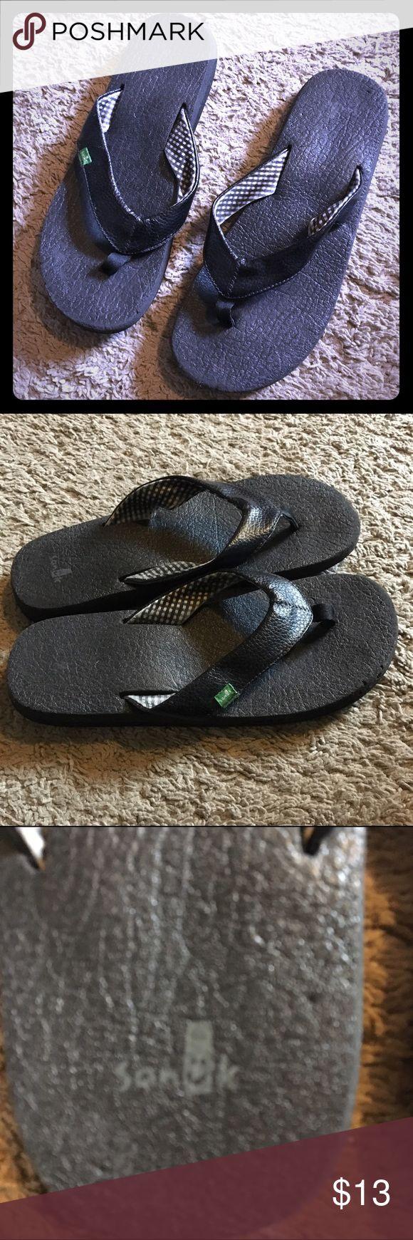 Sanuk flip flops size 8.5 Sanuk flip flops size 8.5 Sanuk Shoes Sandals