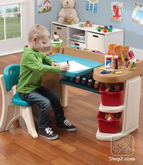 Kids will love painting, drawing, and organizing art supplies with their new Studio Art Desk™ $79.99