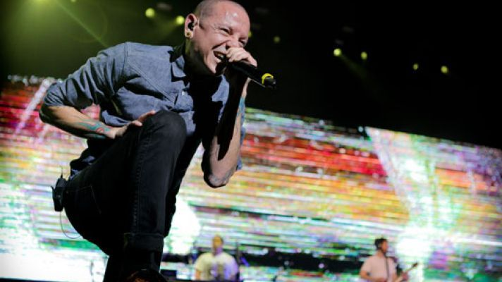 Linkin Park Frontman Chester Bennington Dead At 41 ♫ This photo is actually from the concert in Sydney in 2013. This was the last time Linkin Park played here and the last time I saw them. A beautiful memory. RIP Chester.