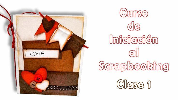 Curso de Iniciación al Scrapbooking - clase 1