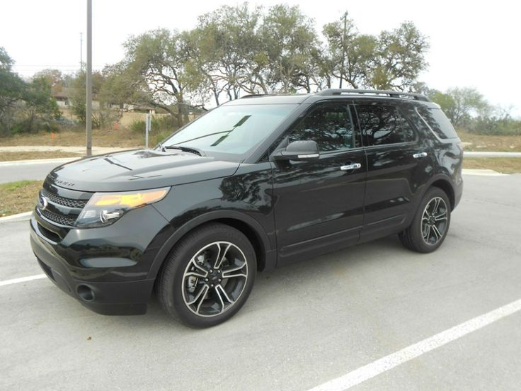 2014 Ford Explorer Sport Black