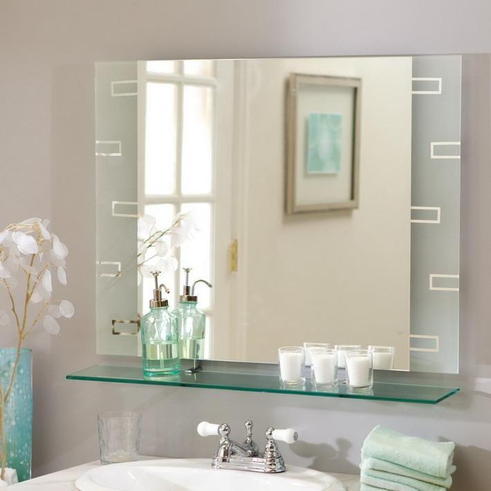 Dekorieren Sie Badezimmer Spiegel Ideen Badezimmermöbel