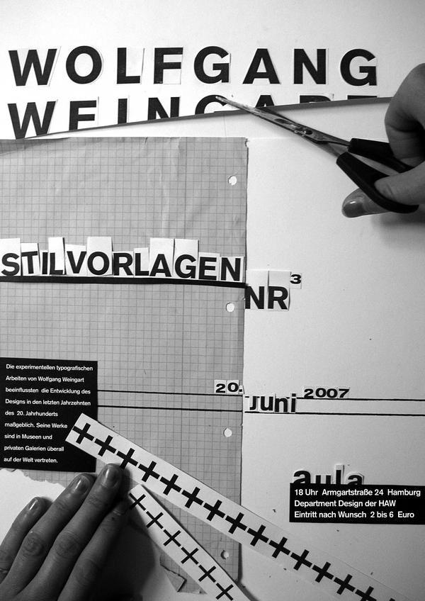 Stilvorlagen Wolfgang Weingart 2 in Posters von