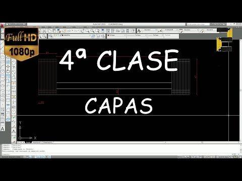 AUTOCAD PARA PRINCIPIANTES - 1ª CLASE - YouTube