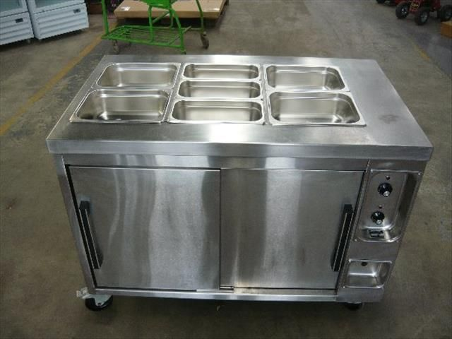 KQUIP COMMERCIAL 3X2 BAIN MARIE WITH HOT BOX · Restaurant Kitchen  EquipmentCommercial