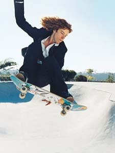 Shaun White. He is one cool cat
