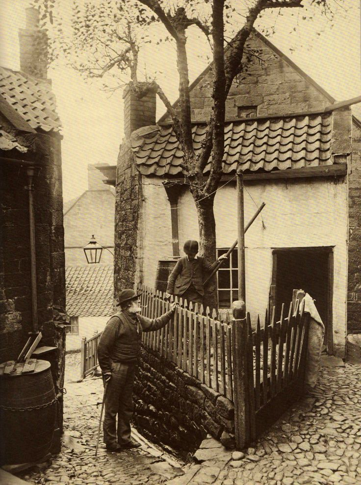 Shirley House, The Openings, Robin Hood's Bay, North Yorkshire, England. Built in 1651. Photo: late 1800s