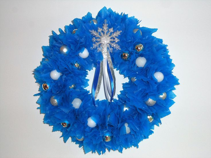Couronne de l 39 avent christal couronne de no l originale for Decoration porte d entree noel