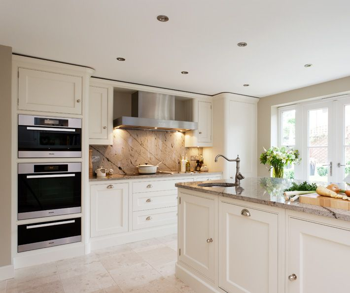 Timeless Painted Design - Bespoke Kitchens - Tom Howley
